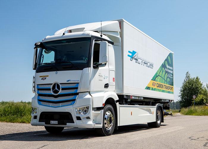 Daimler Trucks eActros