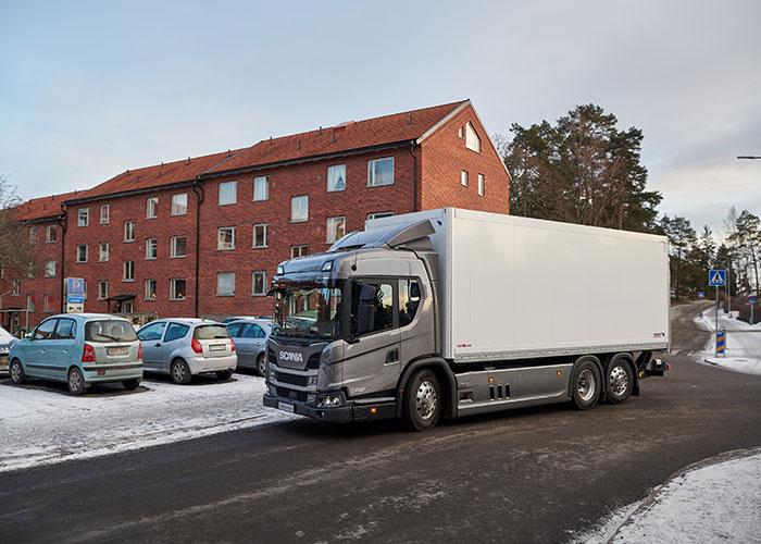 Camion électrique Scania