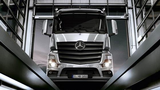 Mercedes Benz Trucks France réseau