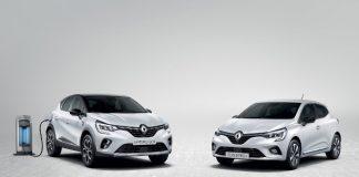 Renault Clio Captur E-Tech