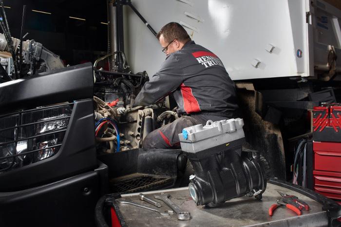 Renault Trucks recyclage poids lourds