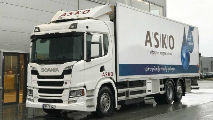 Asko Scania hydrogène