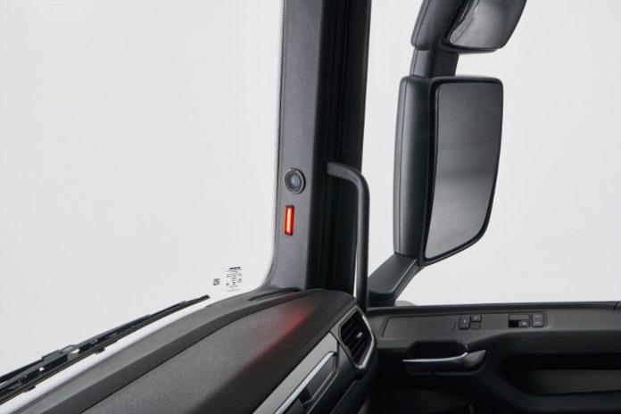 Scania détection latérale
