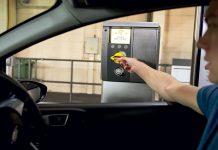 Badges de péage et de parking