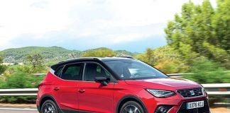 Parmi les SUV citadins du segment B, le Seat Arona fonctionnant au GNV aligne 94 g avec le 3-cylindres 1.0 TGI de 90 ch. Ce modèle est commercialisé en finition Style Business à 22 840 euros.