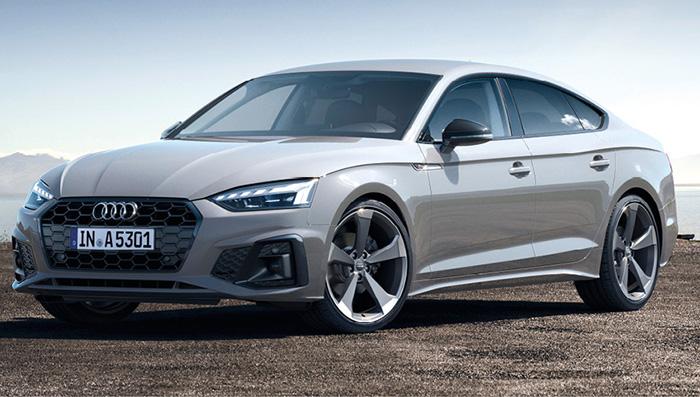 Chez Audi, l'A4 a droit à sa carrosserie A5 Sportback 5 portes. En Business Line, le 2.0 TFSI essence de 190 ch est à la manœuvre pour 152 g (WLTP) à 51 360 euros. En diesel, le 2.0 TDI de 163 ch affiche 136 g dès 49 890 euros ou 137 g en 190 ch pour 52 780 euros.