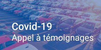 Covid- 19 appel à témoignages Flottes Automobiles