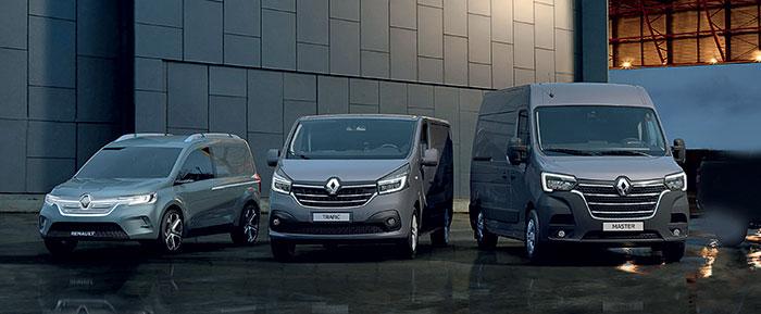 KANGOO Z.E. Concept, Nouveau Renault TRAFIC et Nouveau Renault MASTER