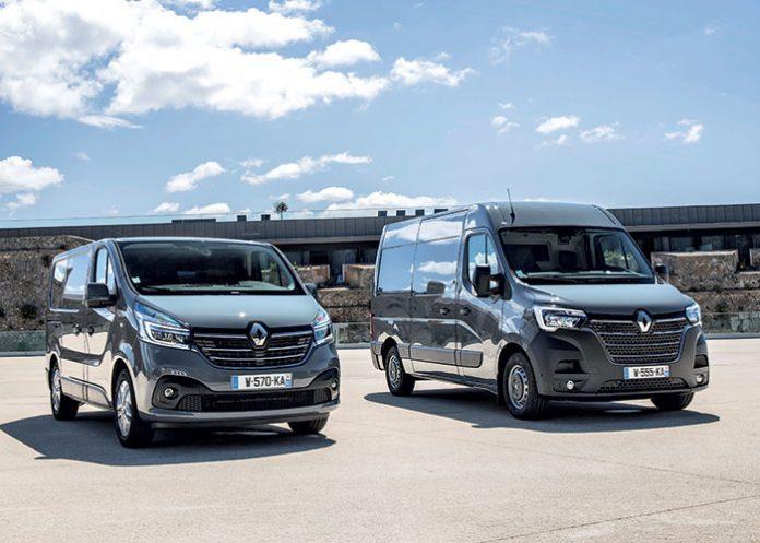 Nouveau Renault Trafic et Nouveau Renault master