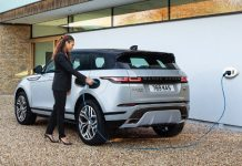 Range Rover Evoque Discovery hybride rechargeable