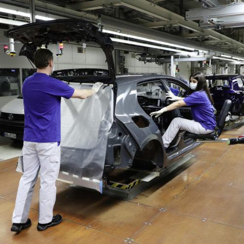 Covid-19 Volkswagen fournisseurs