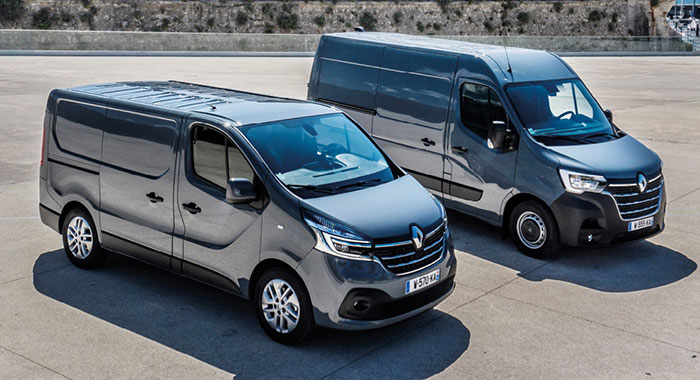 Renault Master et Trafic