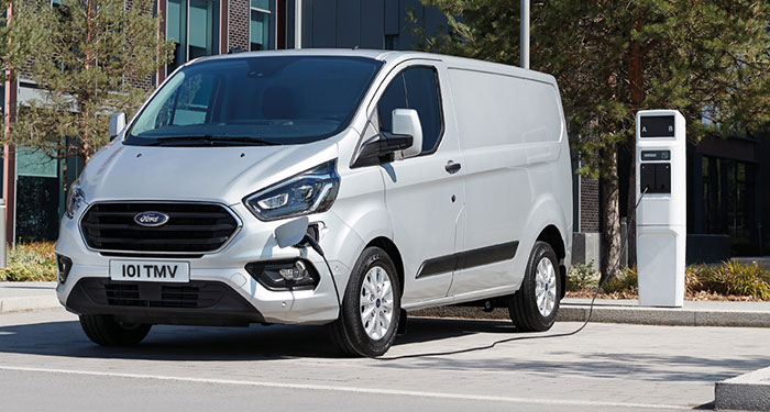 Ford Transit Custom PHEV