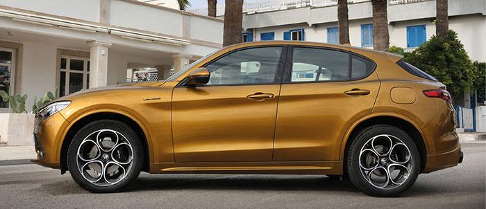 Alfa Romeo propose sur son SUV Stelvio restylé récemment un kit VPC à 1 410 euros HT (cache-bagages et pose compris, coffre de 1 600 l). La gamme débute en diesel de 160 ch/159 g à 33 949,38 euros HT.