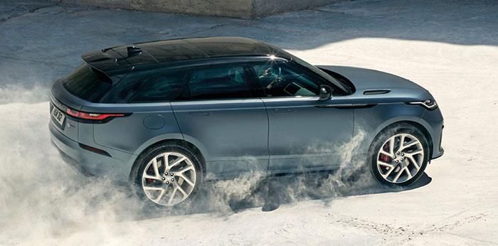 Jaguar et Land Rover partagent une plate-forme pour la grande XF Estate et pour les SUV Range Rover Velar (kit à 1 512,12 euros HT, coffre de 1 731 l, 58 700 euros TTC en 2.0D de 180 ch/151 g) et Range Rover Sport.