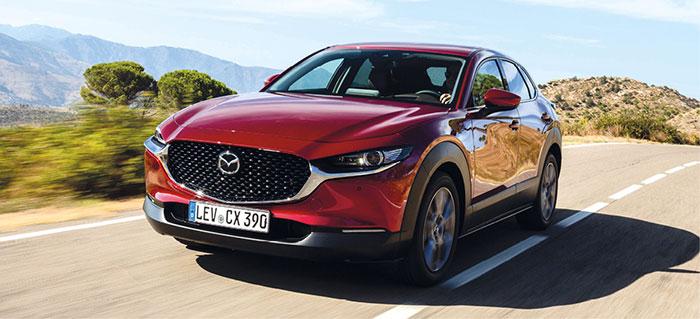 Sur le Mazda CX-30, le kit Gruau pointe à 880 euros HT (pose comprise et cache-bagages, coffre de 1 398 l). Ce SUV s'offre le 2.0 de 180 ch/133 g hybride essence à 31 600 euros TTC, et le 2.0 hybride de 122 ch/141 g à 26 900 euros.
