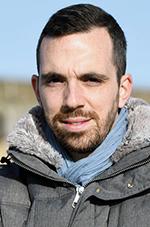 Guillaume Bois Madec, responsable de la flotte automobile, ville de Saint-Nazaire