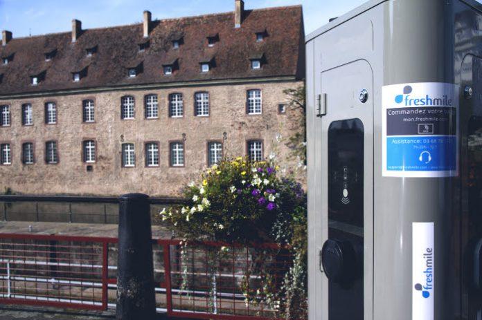 Strasbourg bornes de recharge