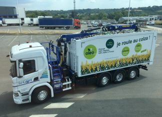 Transports Le Goff biodiesel
