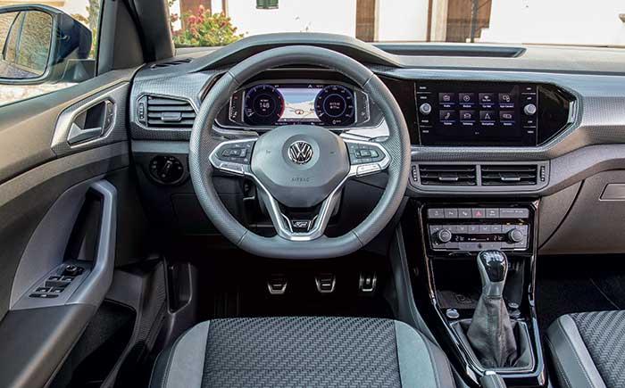 SUV Volkswagen T-Cross habitacle