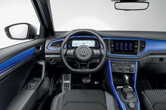 SUV Volkswagen T-Roc habitacle