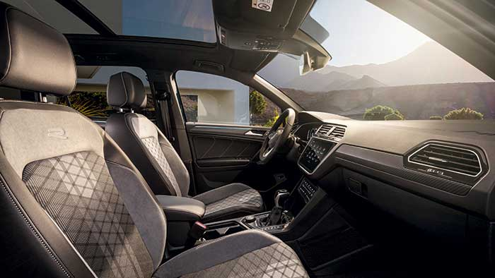 SUV Volkswagen Tiguan habitacle