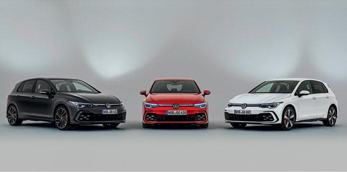 Golf 8 GTI, Golf 8 GTD et Golf 8 GTE