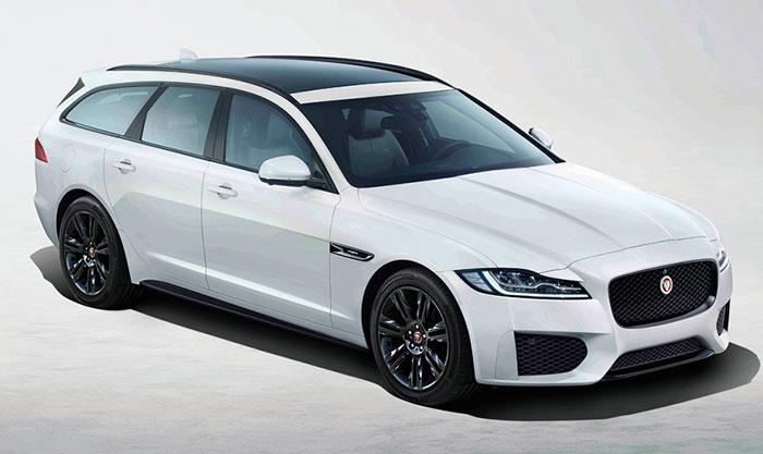L'accès à la gamme de la Jaguar XF (4,96 m de long) se fait avec le 2.0 turbo-diesel de 163 ch à 149 g en boîte manuelle (43 490 euros) et à 150 g en boîte auto (46 010 euros). La version de 180 ch à 146 g nécessite 45 790 euros en boîte manuelle.