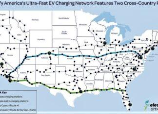 États-Unis électrifier transport routier