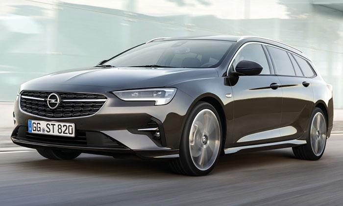 Opel a renouvelé son Insignia (4,90 m de long) avec deux motorisations essence : 1.5 Turbo-essence de 140 ch à 138 g (28 500 euros en Edition) ou de 165 ch à 140 g (33 200 euros en Elegance) ou à 154 g en boîte auto (34 250 euros en Elegance).