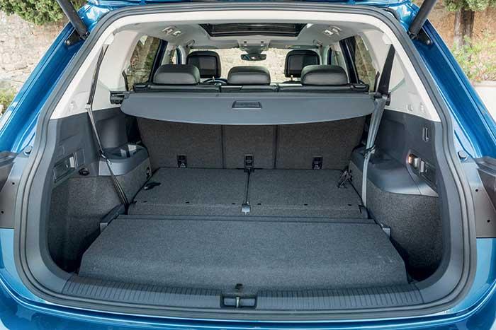 SUV Volkswagen Tiguan Allspace coffre