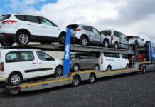 contrat-type de transport routier de véhicules roulants