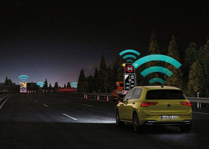 ADAS - Volkswagen Golf – Car2X