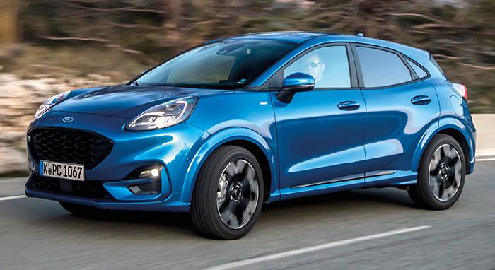 Ford Puma à « hybridation légère »
