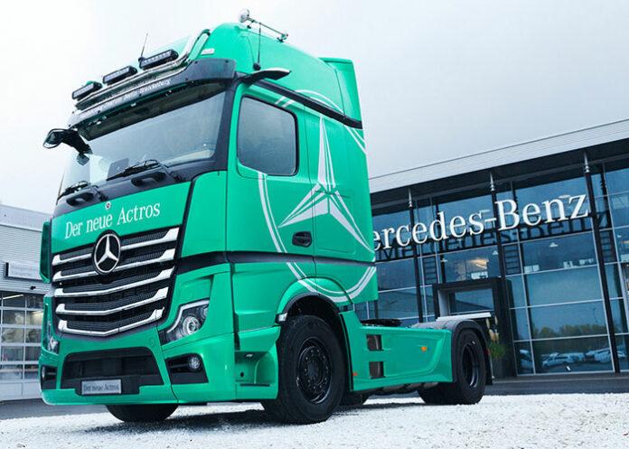 Nouvel Actros 5 GigaSpace Mercedes