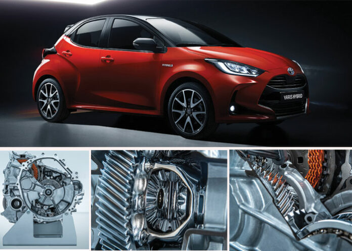 Hybridation - Toyota Yaris « full hybrid »