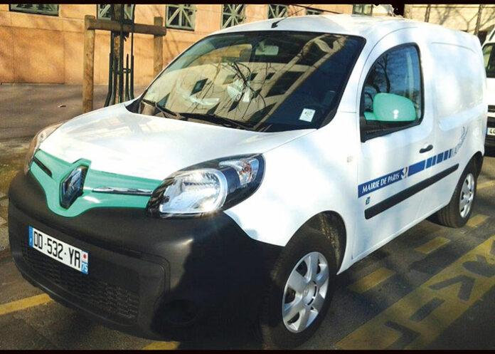 Ville de Paris - véhicule électrique en autopartage