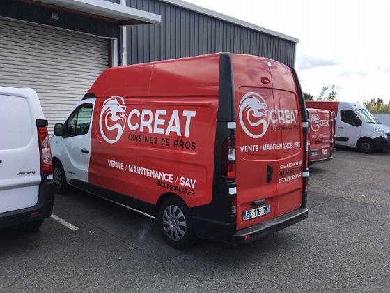 Creat Services carte carburant