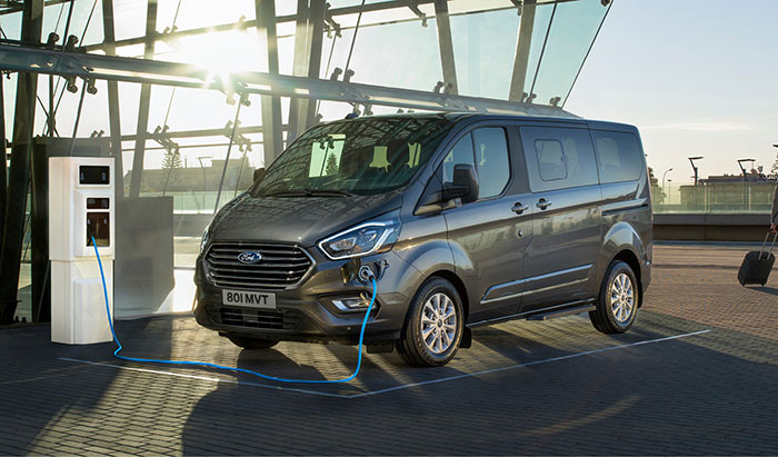 Ford Tourneo Custom Hybride Rechargeable