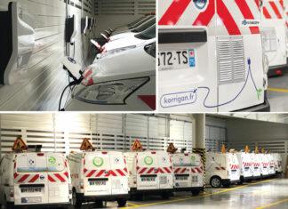 En 2015, le spécialiste de la propreté urbaine Korrigan a installé des boîtiers GPS de la solution télématique Omogen d'ASAP dans la totalité des 70 véhicules de sa flotte, dont 28 Nissan e-NV200 100 % électriques.