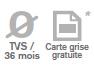TVS 36 mois et carte grise gratuite