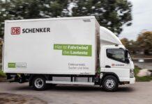 DB Schenker Fuso eCanter