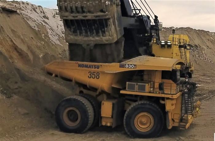 industrie minière camions électriques