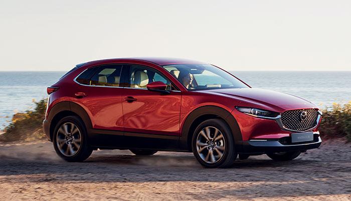 Chez Mazda, le CX-30 mise sur le 1.8 Skyactiv diesel de 116 ch/135 g à 31 500 euros en Business Executive. Un moteur complété par le 2.0 Skyactiv essence à hybridation légère de 122 ch/141 g à 29 300 euros en Business Executive.