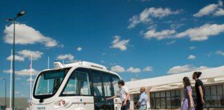 Keolis Navya Autonome Shuttle Evo