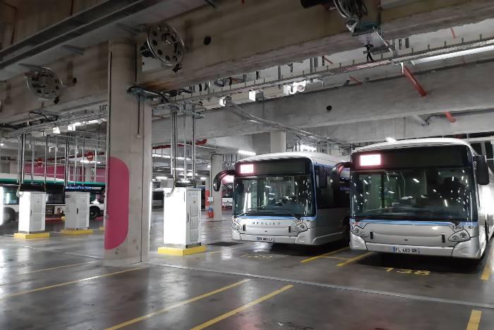 Centre opérationnel de bus (C) Île-de-France Mobilités et RATP