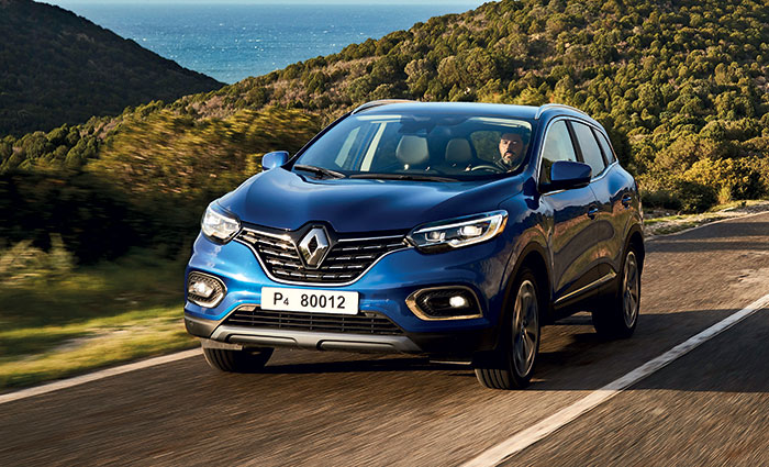 Le Renault Kadjar fait valoir des prix serrés et des motorisations sobres avec le 1.5 Blue dCi de 115 ch/131-137 g, à 30 000 euros en Zen et 31 200 euros en Business. La boîte double embrayage EDC (+ 2 000 euros) fait baisser le CO2 à 129 g.