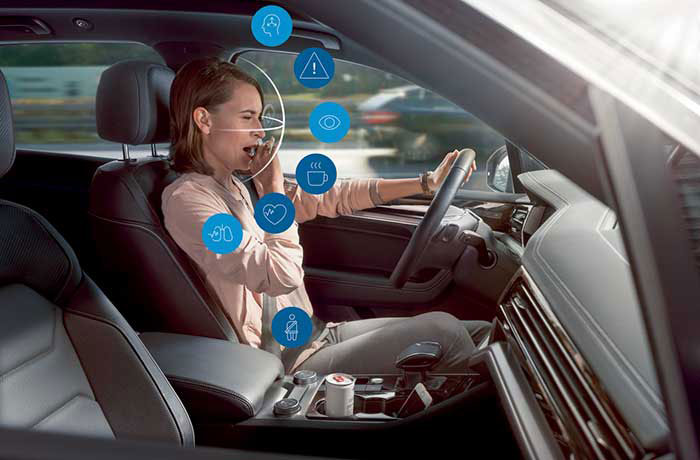 Bosch-Attention au volant