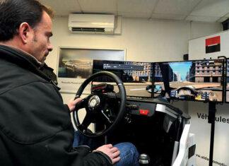 Simulateur de conduite Beltoise Évolution