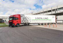 Camion GNL Audi Logistics